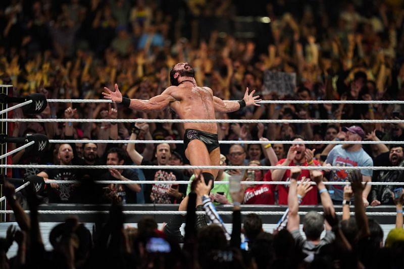 Drew McIntyre made history at the Royal Rumble