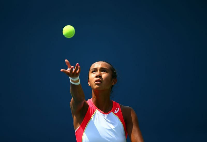 Leylah Fernandez reached the finals of the Acapulco Open just last week.