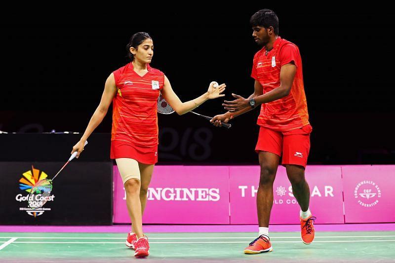 Ashwini Ponnappa (L) and Satwiksairaj Rankireddy