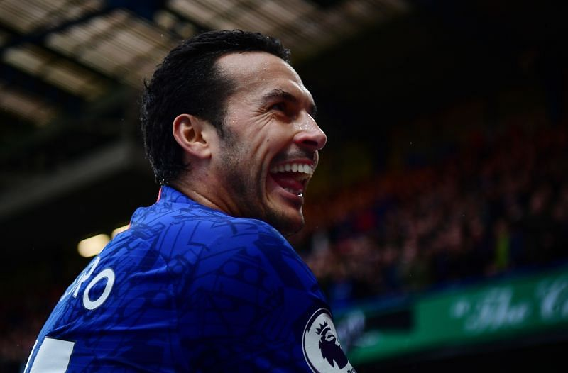 Pedro was as energetic as a 20-year-old against Everton