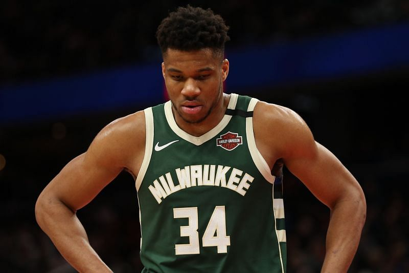 Giannis Antetokounmpo is among the NBA stars currently sidelined by injury