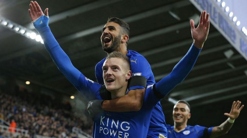 The lethal combo of Mahrez and Vardy