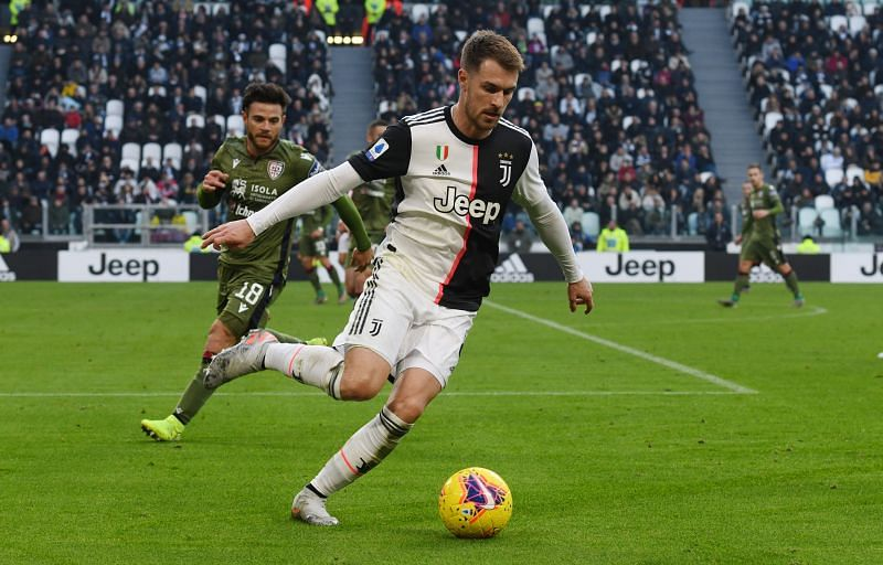 Aaron Ramsay produced his best performance for Juventus in a crucial 2-0 victory over title rivals Inter Milan