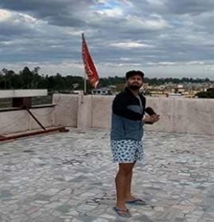 Rishabh Pant Instragram Video