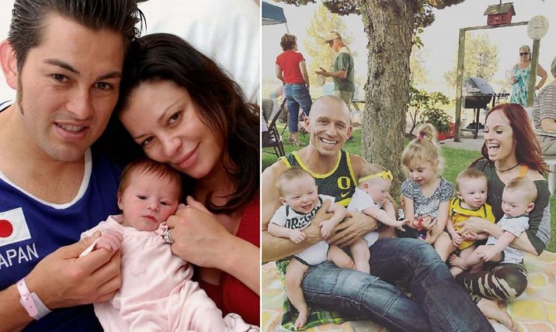 There are a number of former stars who have gone on to start families