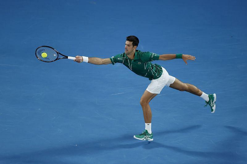 Novak Djokovic won the Australian Open this year.