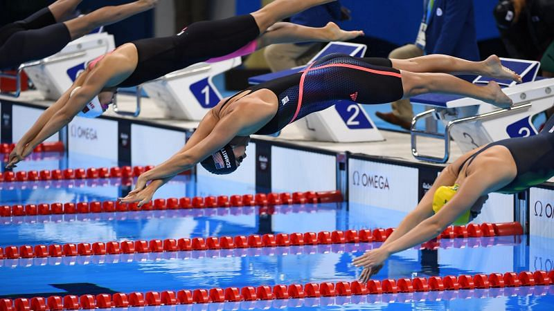 Swimmers in action (PC: USAToday)