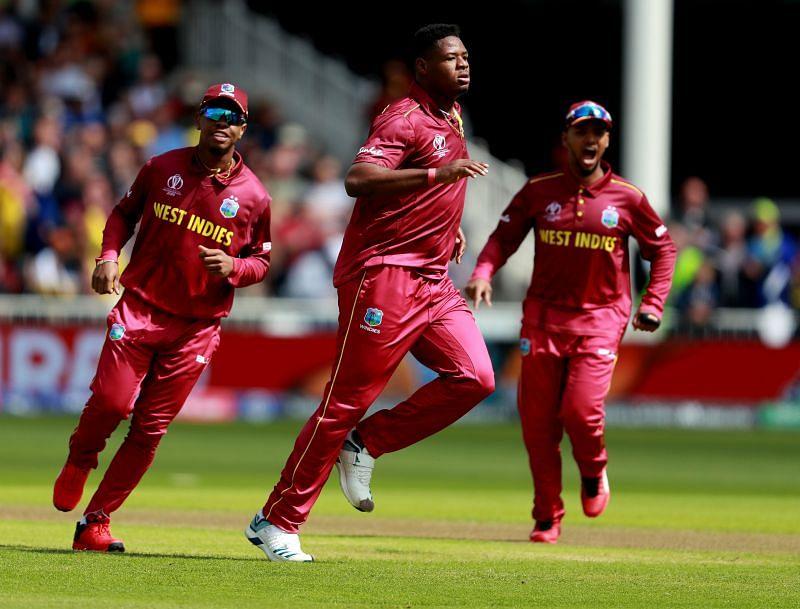 Oshane Thomas bagged figures of 5/28 as West Indies beat Sri Lanka by 25 runs