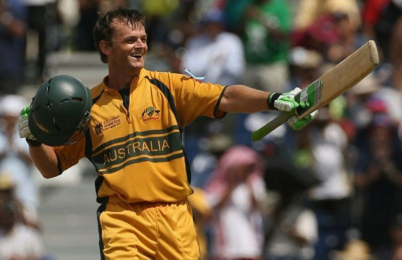 Adam Gilchrist had a great cricketing career for Australia