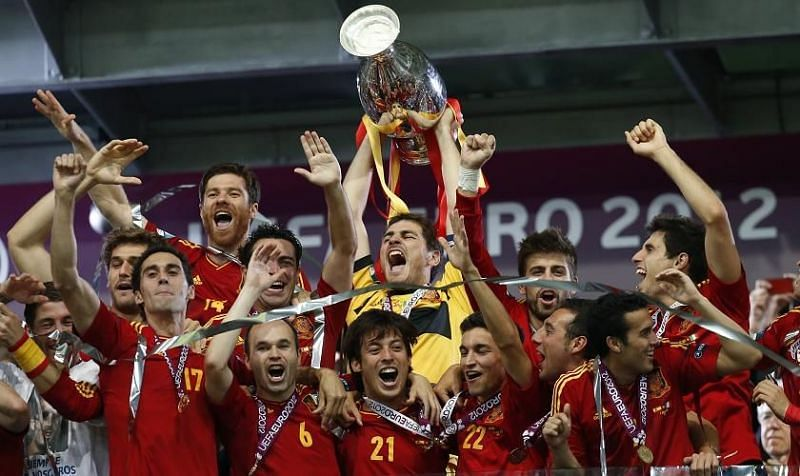 Spain retained their title at Euro 2012