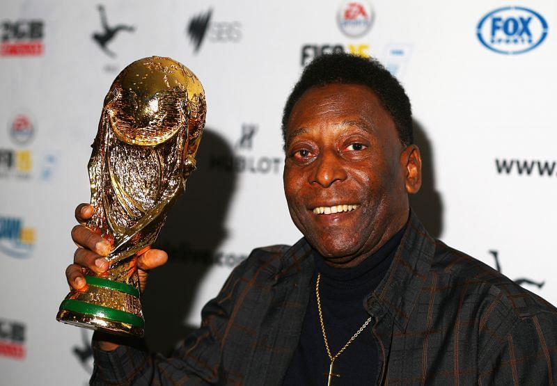 Pele is one of the greatest footballers of all time