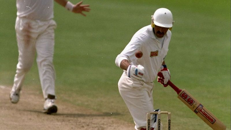 Gooch became the first Englishman to be dismissed handling the ball