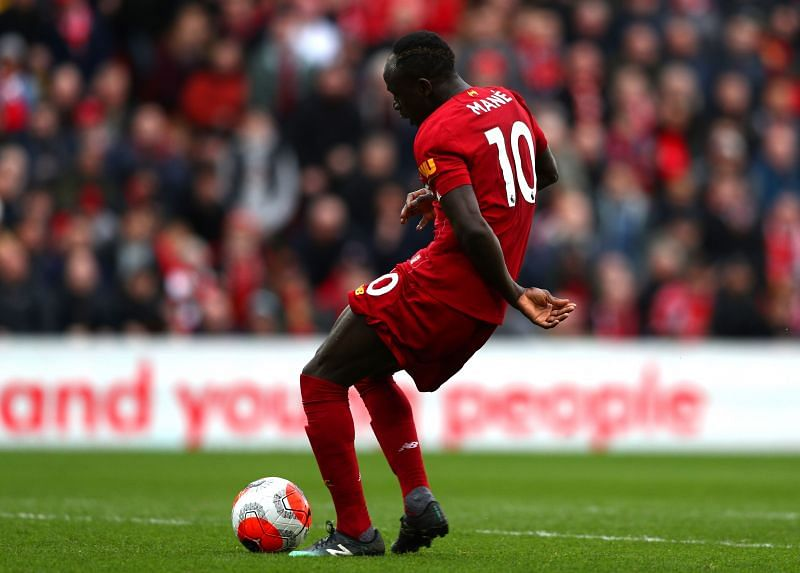 Sadio Mane during a Premier League game against Bournemouth