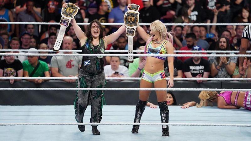Who will challenge Alexa Bliss and Nikki Cross?