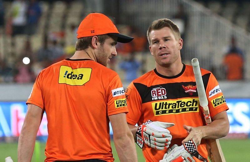 डेविड वॉर्नर और केन विलियमसनदोनों ने ही सनराइज़र्स हैदराबाद की कप्तानी की है