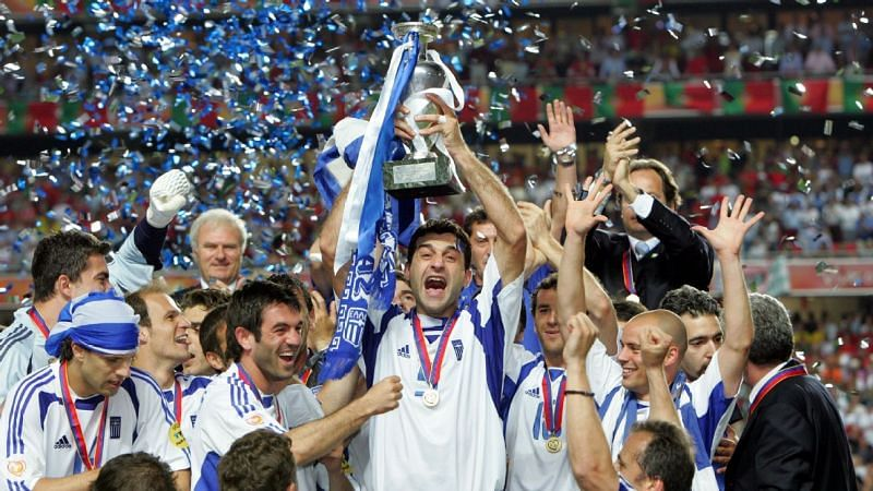 Nobody expected rank outsiders Greece to win at Euro 2004