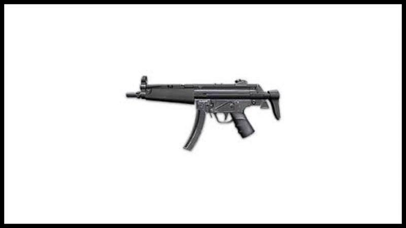 MP5 SMG.