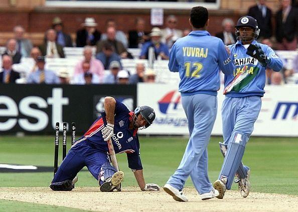 युवराज सिंह vs 2002 लॉर्ड्स