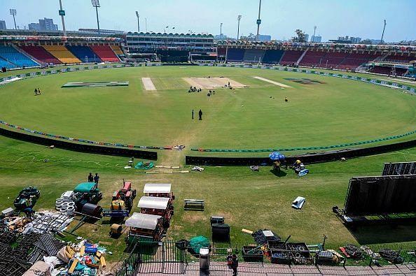 पाकिस्तान का लाहौर स्टेडियम