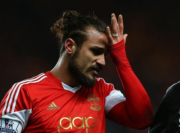 Dani Osvaldo has been involved in numerous bust-ups in his career