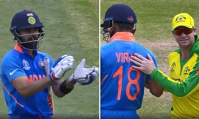 Virat Kohli and Steve Smith exhibited what is called true sportsmanship on the field.
