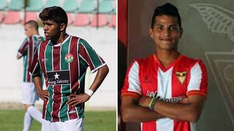 Various young Indian footballers are plying their trade in Europe