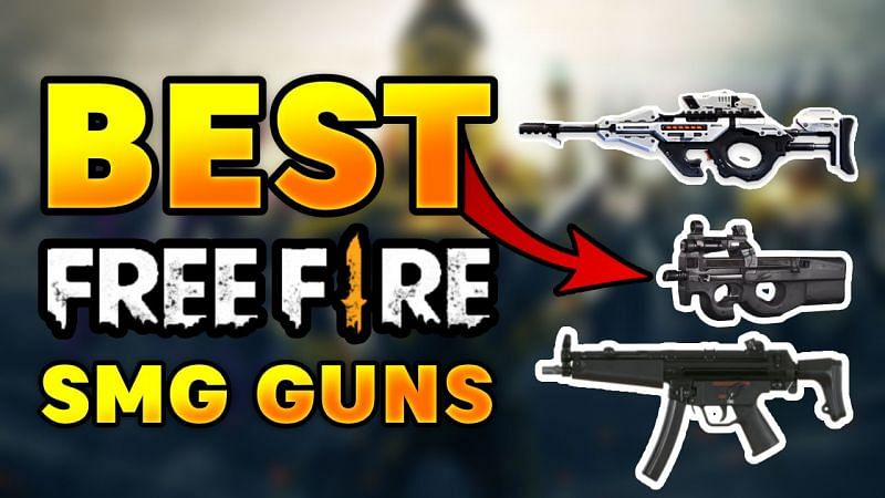 Free Fire: Best Submachine Guns (SMG) in Free Fire
