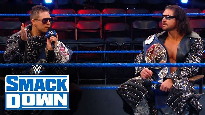 Miz & Morrison set to defend SmackDown Tag Team Championships next week