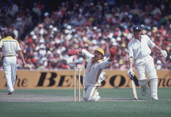 """The phrase """"caught Marsh bowled Lillee"""" was famous in the 1970s"""