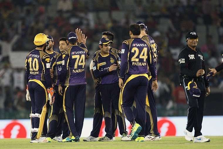 Kolkata Knight Riders have bagged the IPL title on two occasions.