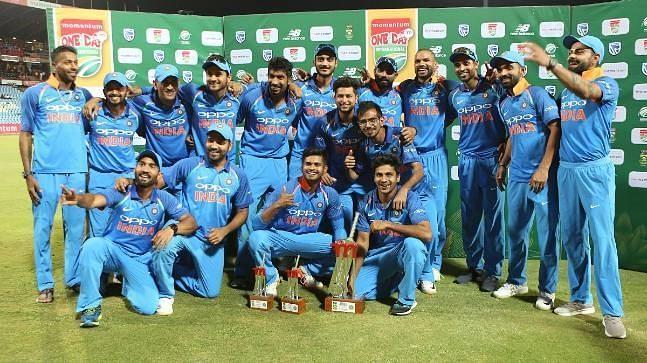 भारतीय वनडे टीम