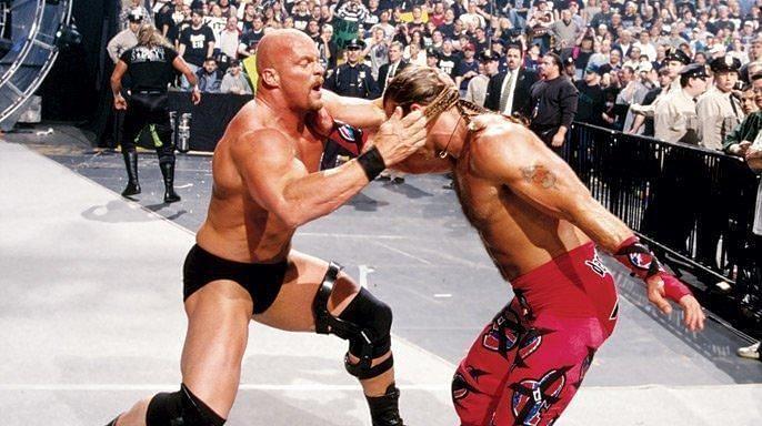 दो दिग्गज रेसलर्स के बीच में मैच