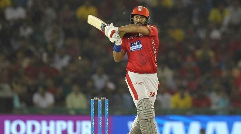 Yuvraj Singh had more telling performances with the ball than with the bat for KXIP.