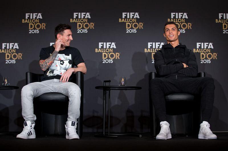 Cristiano Ronaldo and Lionel Messi have won a staggering 10 Ballon d