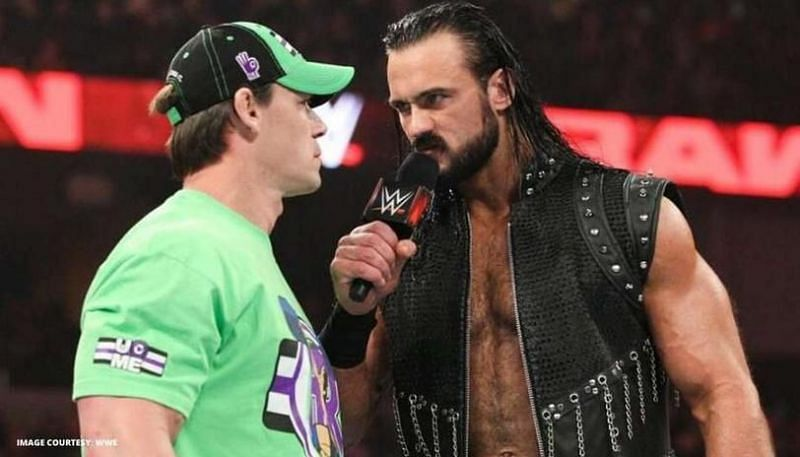 नए WWE चैंपियन ड्रू और दिग्गज जॉन सीना