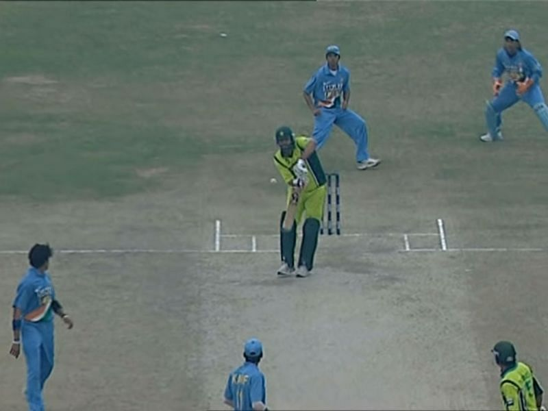 Inzamam was dismissed obstructing the field