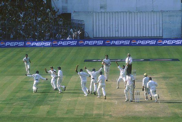 भारतीय टीम ने इतिहास रचा था