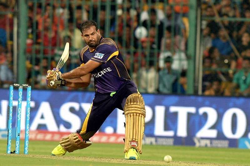 Yusuf Pathan would provide the firepower in the middle-order of KKR