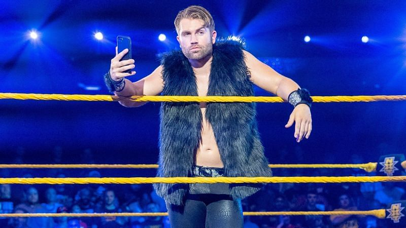 Tyler Breeze only recently joined the Cruiserweight division.