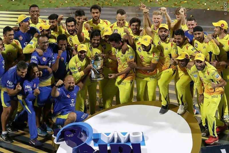 Chennai Super Kings have won the IPL title on 3 occasions (Picture courtesy BCCI)