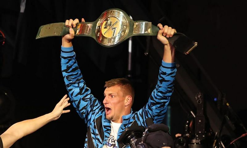 The Gronk wins the 24/7 title