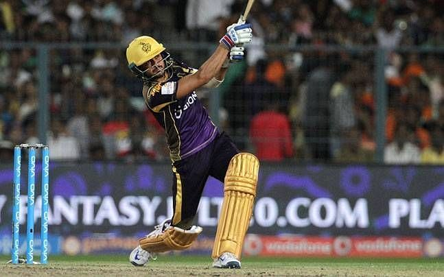 Manish Pandey played a title-winning innings in the 2014 IPL final.