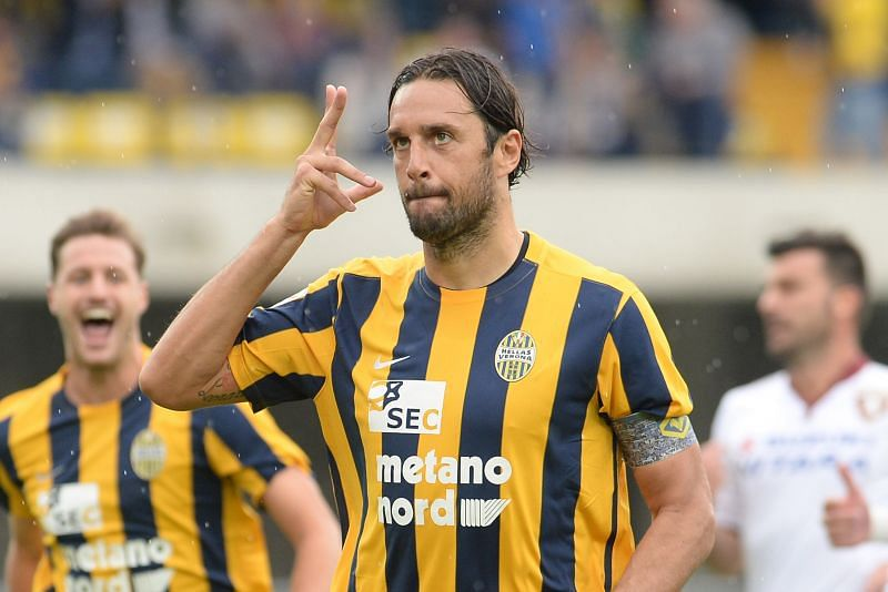 Luca Toni was still scoring goals at the age of 38