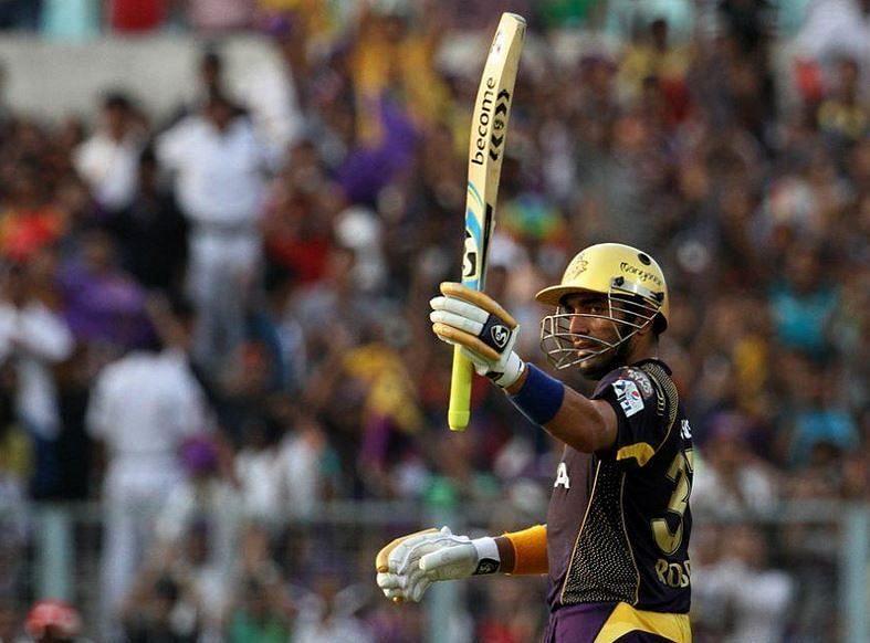 Robin Uthappa had his best IPL moments with Kolkata Knight Riders.
