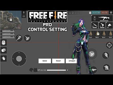 Best thumb setup in Free Fire