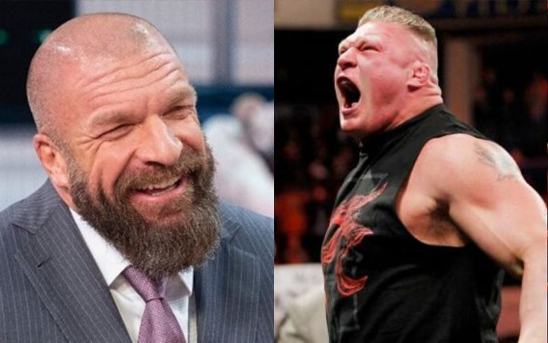 Could we see Brock Lesnar feuding with an NXT Superstar in the future?