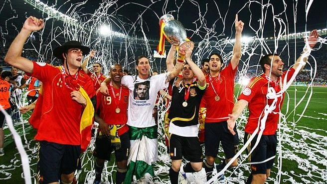 Spain were victorious at Euro 2008, a truly fantastic tournament