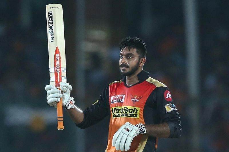 Vijay Shankar played 15 matches in IPL 2019 for SRH and scored only 244 runs.