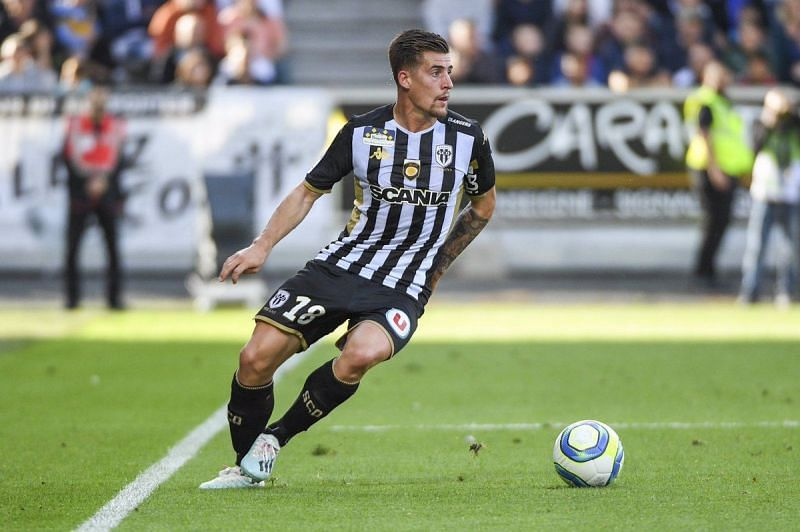 Baptiste Santamaria playing for Angers SCO