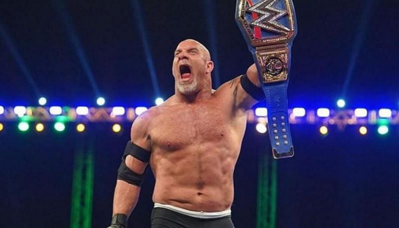 The WWE Universe was pretty upset with Goldberg